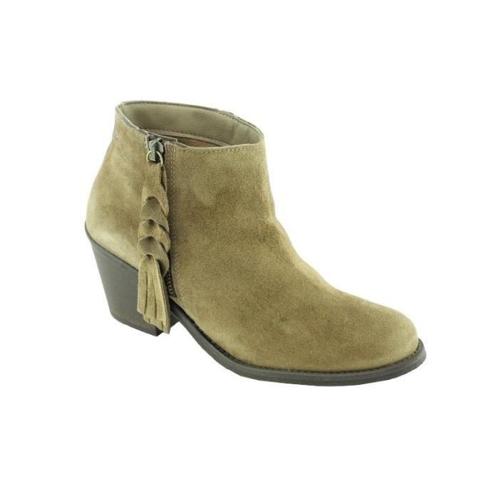 Boots Zip à frange -Maryse QjHCj