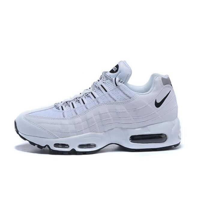 the latest 5272f 7bb1d Mixte Nike Air Max 95 OG Baskets Chaussures De Sport Blanc