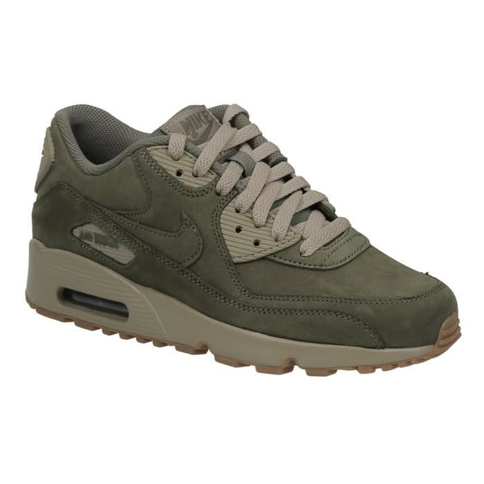 Nike Air Max 90 Ltr GS Vert - Chaussures Baskets basses Homme