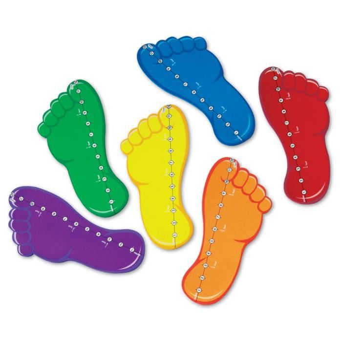 Learning Resources Feet By The Foot