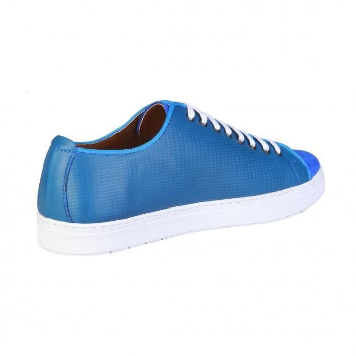 Cardin pour Pierre Pierre Cardin Homme bleu Basket Sneakers xU0qRvwwP