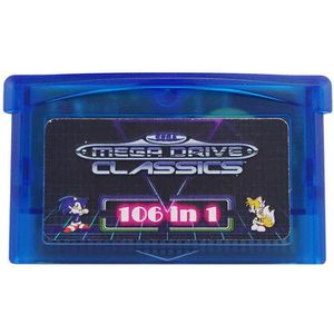 PACK ACCESSOIRE GBA SMS 106 en 1 jeux Sega Master System pour Game