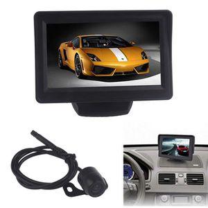 RADAR DE RECUL 4,3 pouces de voiture TFT LCD moniteur miroir + ar