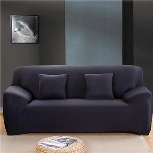Housse de canape 4 places achat vente pas cher for Housse divan 2 places