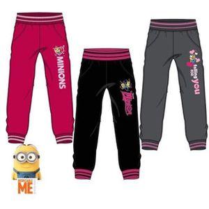 PANTALON Pantalons Jogging MINIONS DESPICABLE pour Fille en