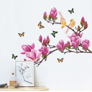 cheap stickers strass neufu stickers mural huge magnolia ar with pochoir mural pas cher. Black Bedroom Furniture Sets. Home Design Ideas