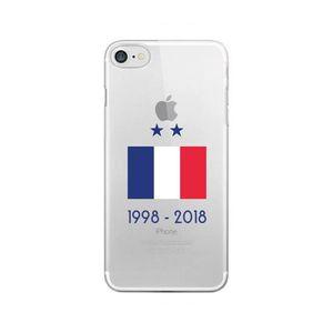 HOUSSE - ÉTUI Samsung Galaxy S8 - Coque Foot Drapeau de France [
