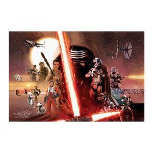 AFFICHE - POSTER Poster Star Wars Episode 7 - Galaxy 61x92cm