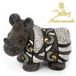STATUE - STATUETTE De Rosa Rinconada - Rhinocéros Figurine (36909)
