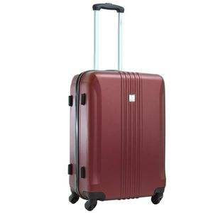 VALISE - BAGAGE Valise Cabine 4 roues ABS BENZI - Bordeaux