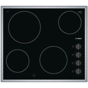 PLAQUE VITROCÉRAMIQUE  Bosch - table de cuisson vitrocéramique 4 feux 660