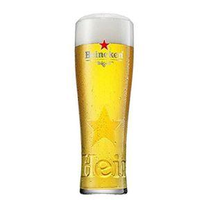 Verre à bière - Cidre Lots de 6 verres Heineken star 25 cl