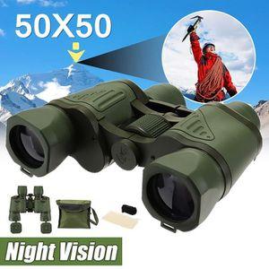 JUMELLE OPTIQUE TEMPSA Etanche Jumelles 50x50 HD Vision Nocturne B
