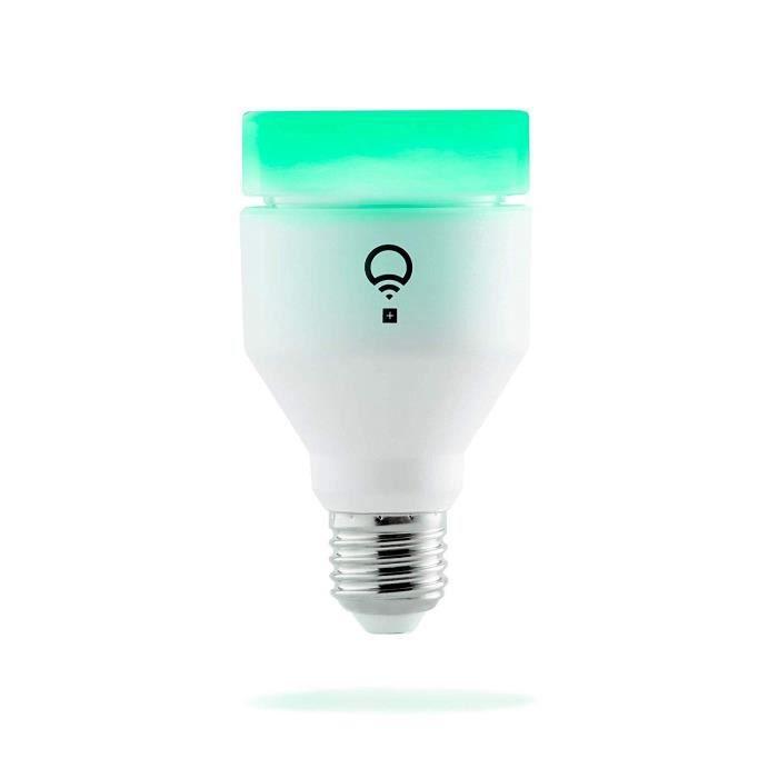LIFX +Color/White Wi-Fi LED Light Bulb