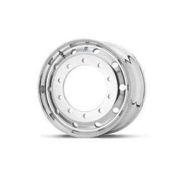 Roue ALCOA en aluminium forgé pour Poids Lourd - 22.5x11.75 déport 0 mm - Perçage 26 mm - Capacité 5.000 kg - Finition LvL-One