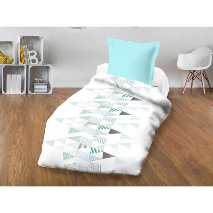 140x200cm - Microfibre 100% polyester - Garnissage 100% polyester - Blanc - Lit 1 placeCOUETTE
