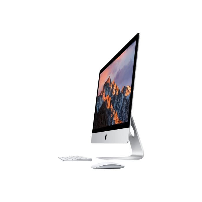 UNITÉ CENTRALE + ÉCRAN Apple iMac avec écran Retina 5K Tout-en-un 1 x Cor