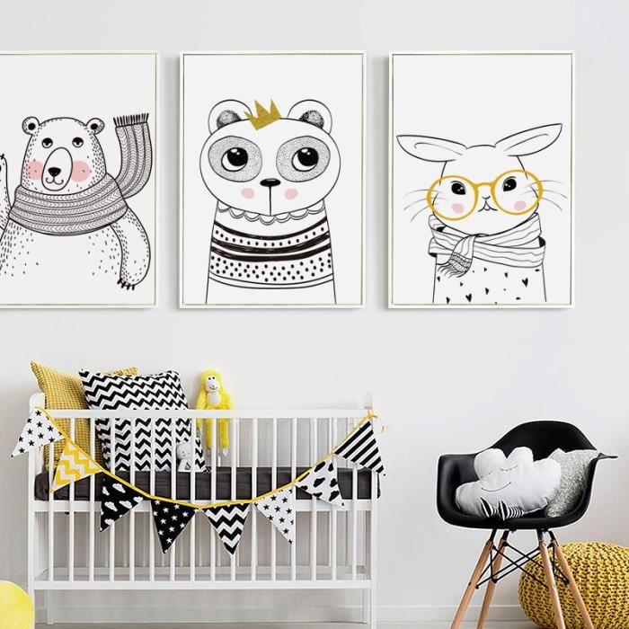 Tableau chambre bebe achat vente tableau chambre bebe pas cher cdiscount - Cadre pour chambre enfant ...