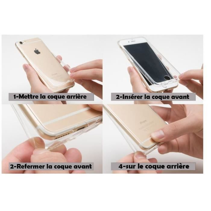coque silicone double face iphone 6