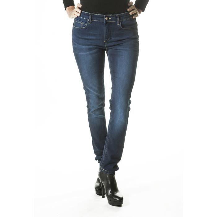 Stretch Skinny Moyenne Femme Push Taille Soldes Lewis Jeans Rica Up stChQrdx