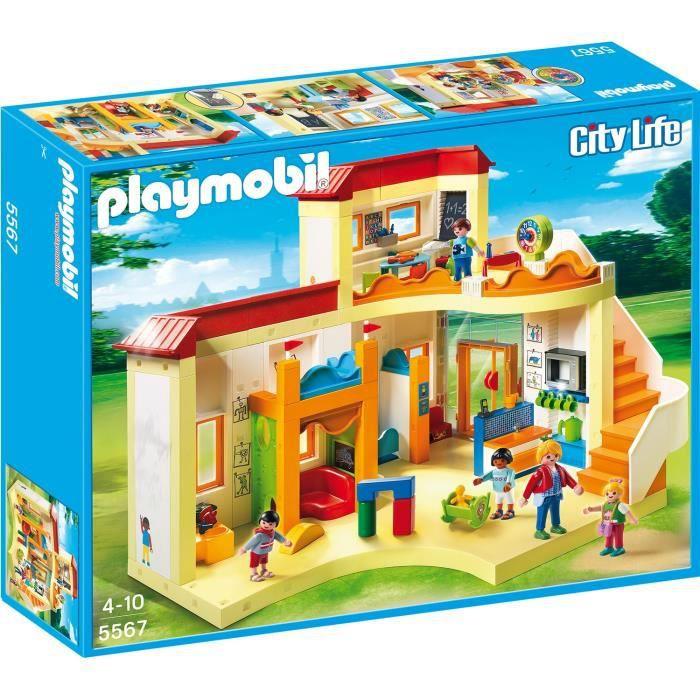 UNIVERS MINIATURE PLAYMOBIL 5567 - City Life - Garderie Enfant
