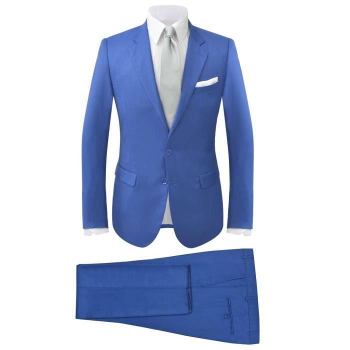 Costume à 2 pièces pour hommes Bleu royal Taille 48 - Achat   Vente ... 8e6a9adbff4