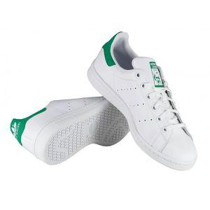 Stan Basket Cuir Blanc ORIGINALS et Smith vert ADIDAS g1wEq7