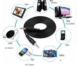 CASQUE - ÉCOUTEURS RED 3.5mm Lead Câble audio AUX-In Cord Pour Audio-