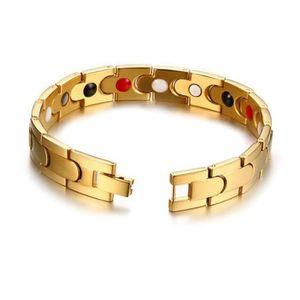 BRACELET - GOURMETTE SHA Bijoux Bracelet homme - 12MM Acier au titane Q