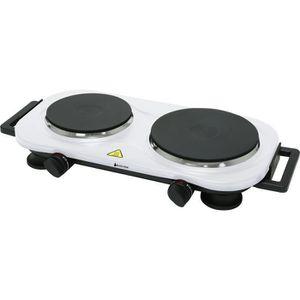 PLAQUE POSABLE Plaque de cuisson 2 feux - Blanc - 2250W - Blackpe fd4732c866ed