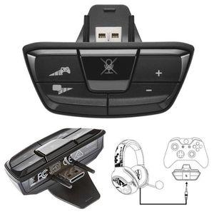 ADAPTATEUR MANETTE Adaptateur Casque  Stéréo Noir Pour Microsoft Xbox