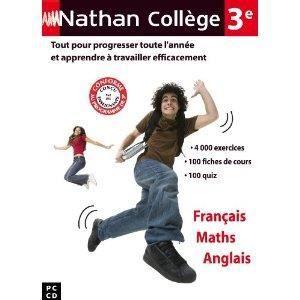 CULTURE Nathan collège 3ième - Français/Maths/Anglais -…