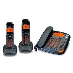 Téléphone fixe Switel Vita DCT 50073 Combo Trio Filaire