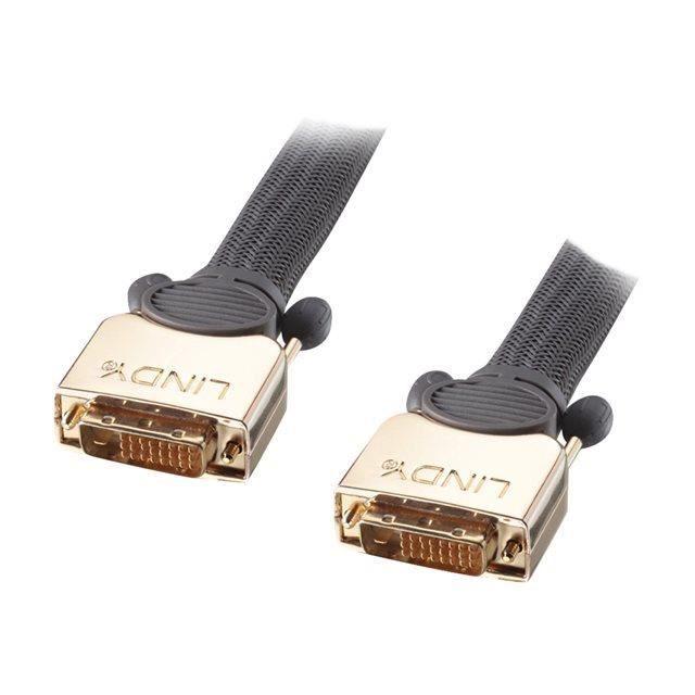 LINDY Câble DVI-D GOLD Dual Link SLD - 15m