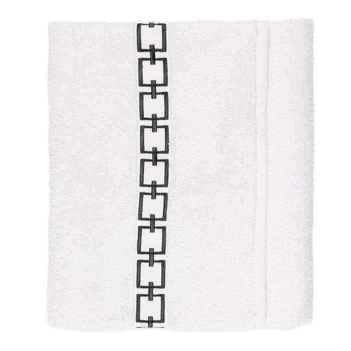 FINLANDEK Drap de bain 70x130 - BlancSERVIETTE DE BAIN - DRAP DE BAIN