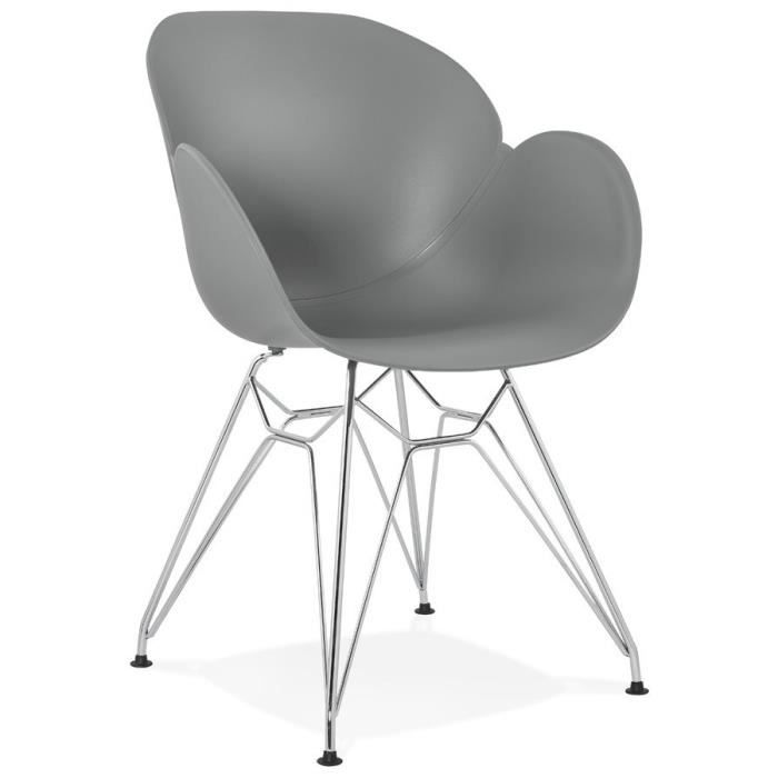 Chaise Moderne Pas Cher.Chaise Moderne Grise