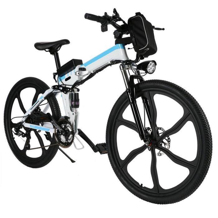 KIT VÉLO ÉLECTRIQUE Vélo de montagne électrique avec batterie Lithium-