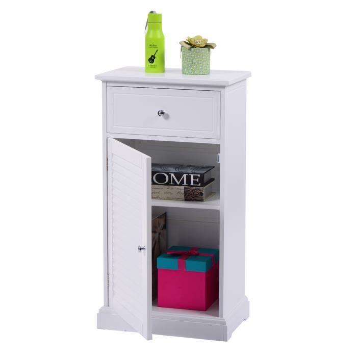 Armoire de toilette meuble tiroirs salle de bain en armoire debout ...