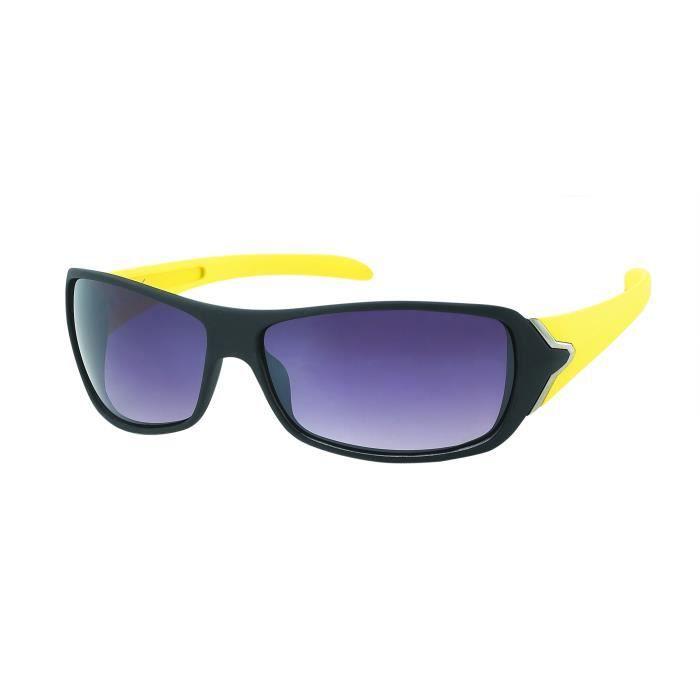 Lunettes de soleil sport FLASH-SP425-61082 branches jaunes