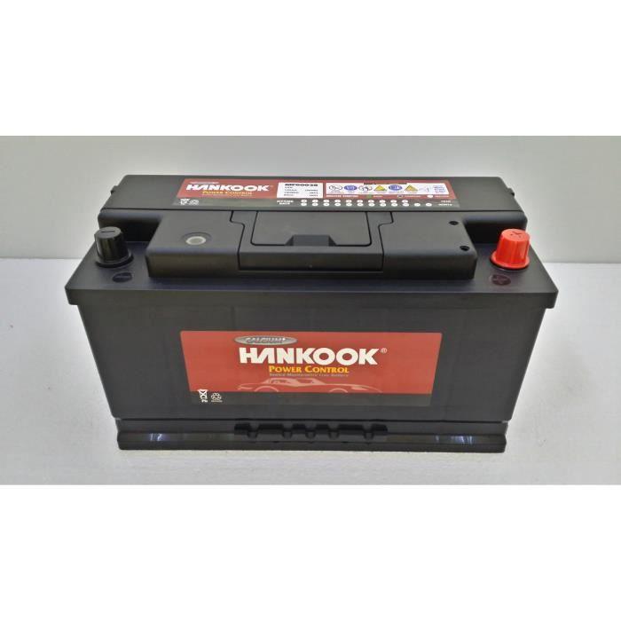 batterie auto hankook 12v 100ah 850a calcium achat vente batterie v hicule batterie auto. Black Bedroom Furniture Sets. Home Design Ideas