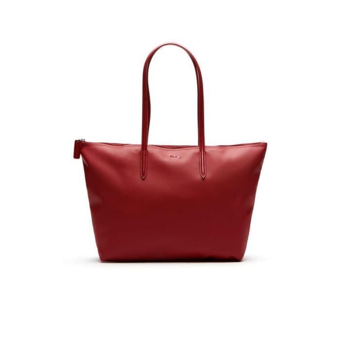 f32deea050 Lacoste - Sac cabas femme - L SHOPPING BAG | L.12.12 CONCEPT UNI ...