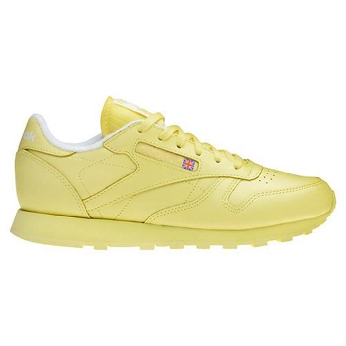7cb85833cdbb8 reebok classic leather homme jaune pas cher   OFF79% R ductions