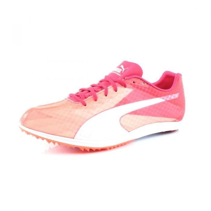 CHAUSSURES DE RUNNING Chaussures d'Athlétisme PUMA Evospeed distance V6 ...
