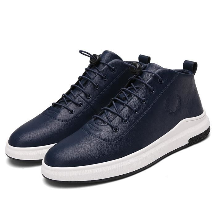 Skateshoes Homme Hiver - automne l'exécution Sneaker antidérapante hommes rouge taille9.5