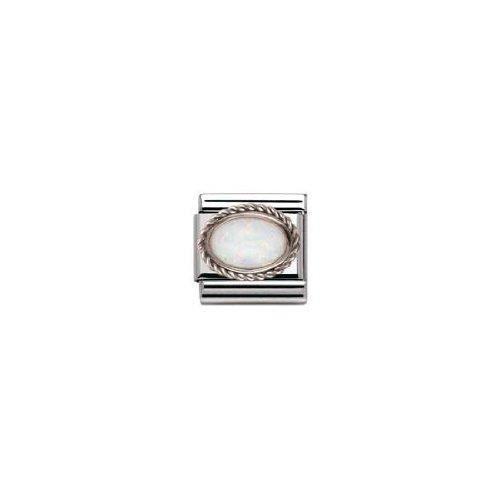 Nomination 030509-07 - Maillon Pour Bracelet Composable Femme - Acier Inoxydable C6FU8
