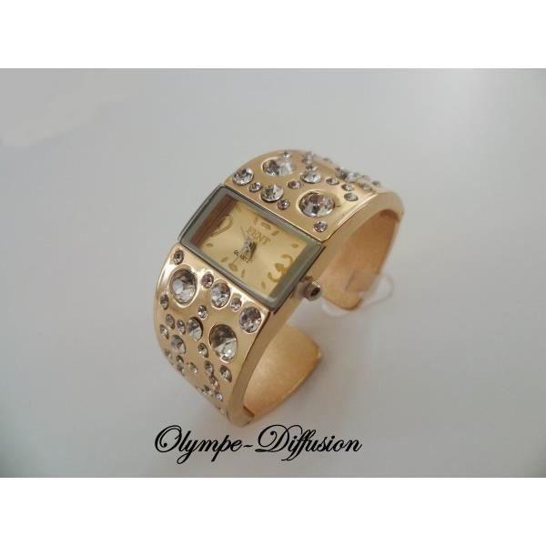 Assez Montre femme bracelet metal sans nickel - Achat / Vente pas cher  CA33