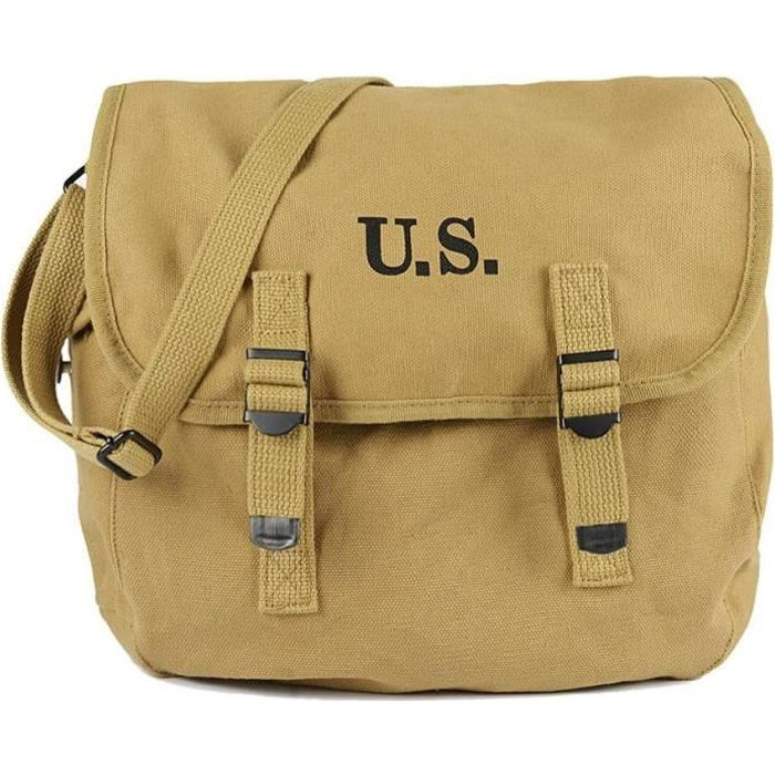 530dba8bed BESACE SAC MUSETTE US ARMY KAKY - Achat / Vente besace - sac ...
