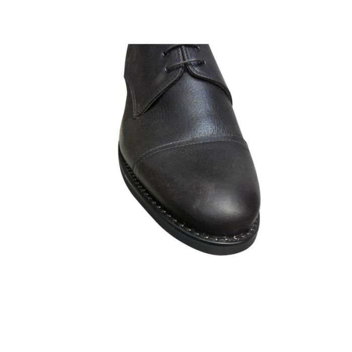 Derby cuir PARABOOT TERRE homme marron ofHkEg5Mp5