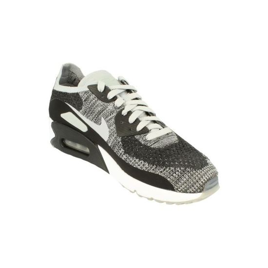 buy popular 6e66e 663ee Nike Air Max 90 Ultra 2.0 Flyknit Hommes Running Trainers 875943 Sneakers  Chaussures Noir Noir - Achat   Vente basket - Cdiscount