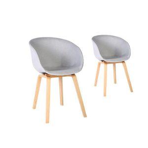 chaise scandinave achat vente chaise scandinave pas cher soldes d s le 10 janvier cdiscount. Black Bedroom Furniture Sets. Home Design Ideas